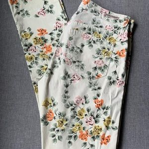 Citizens of Humanity High Waist, Floral Jeans